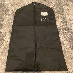 Saks Fifth Avenue Vinyl Garment Bag